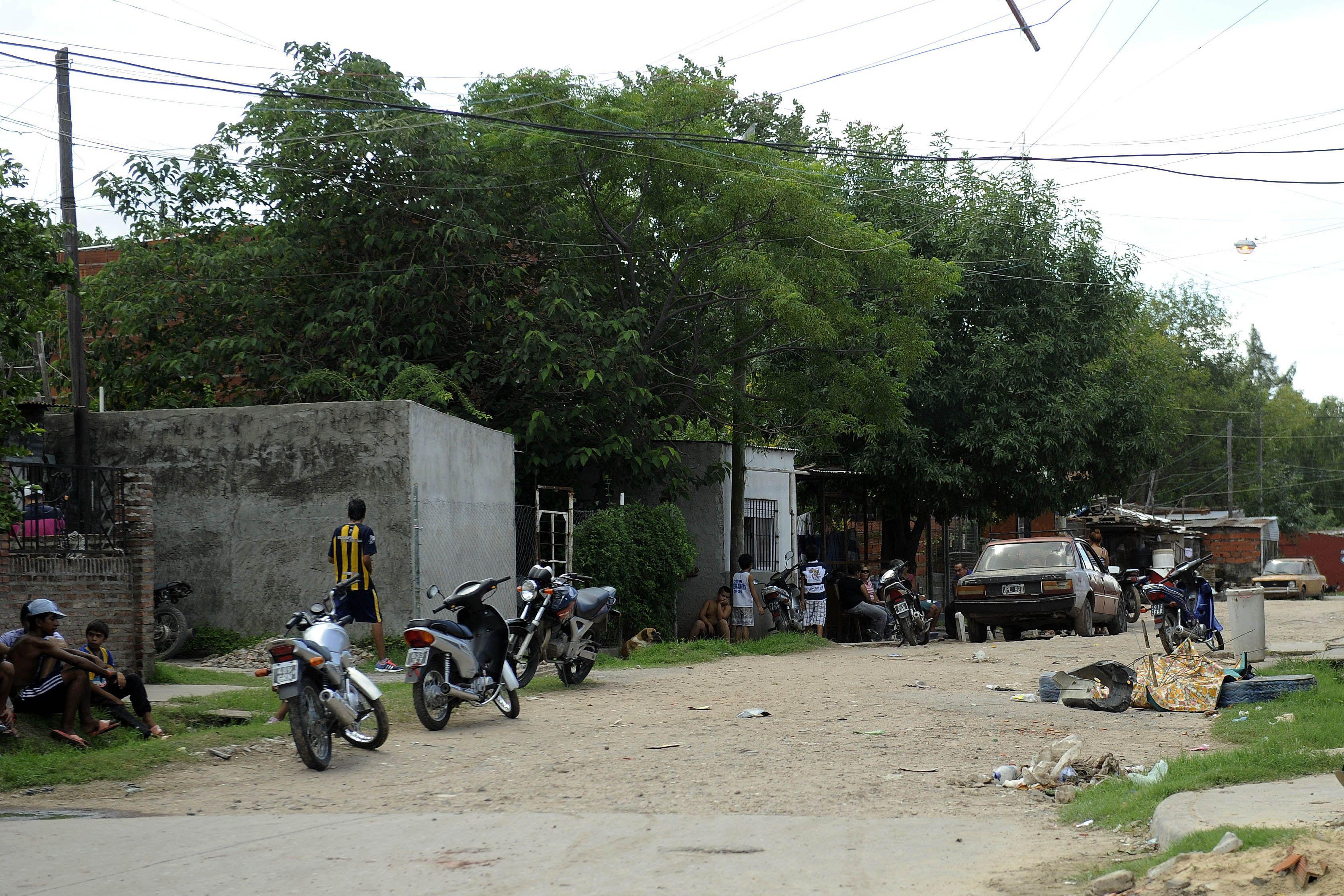 El lugar donde la noche del miércoles atacaron a tiros a Ariel Alejandro Avila