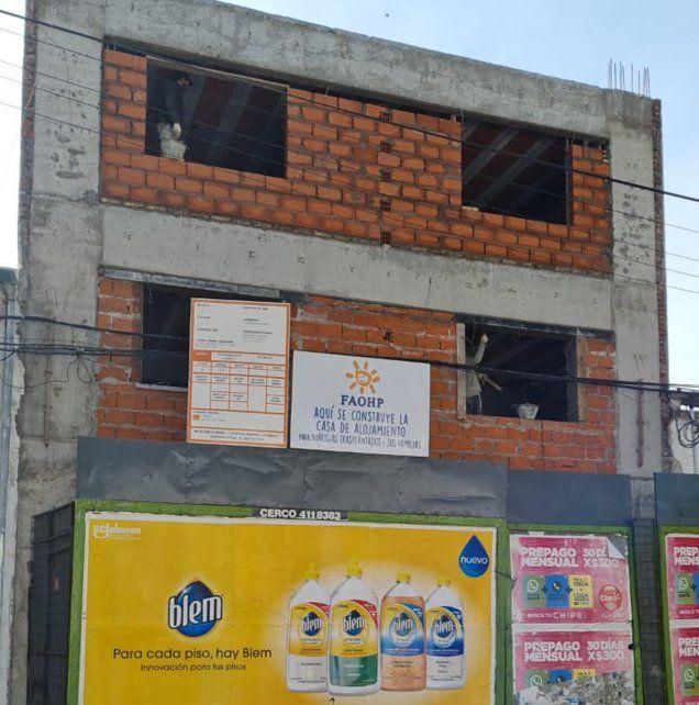 La futura casa alojamiento de la Fundación Argentina Oncohematológica Pediátrica está en Virasoro 870