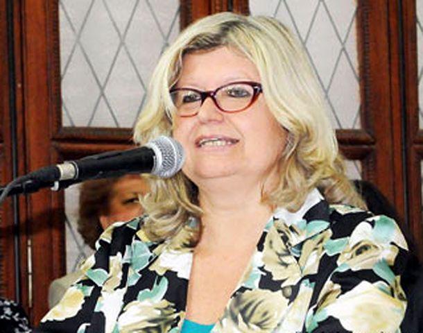 La ministra Balagué fue la responsable de la conferencia inaugural del congreso educativo de Sadop Rosario.