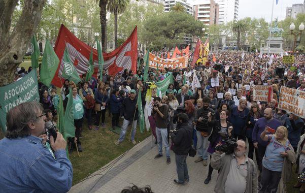 Movilización. Amsafé Rosario