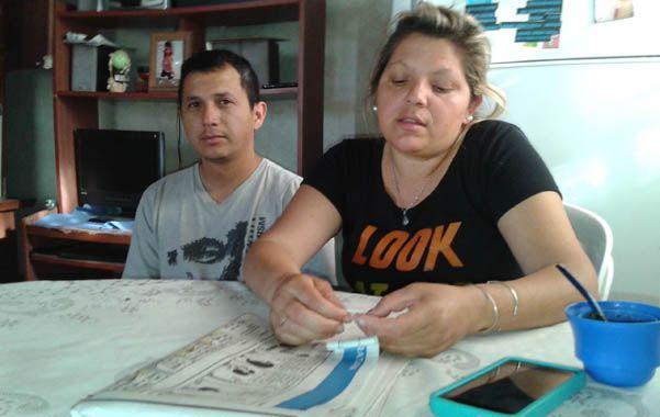 Con esfuerzo. Alejandro y Yanina son trabajadores