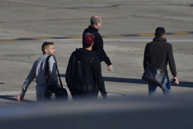 El regreso. Jordi Alba dejó Rosario en la mañana de ayer.
