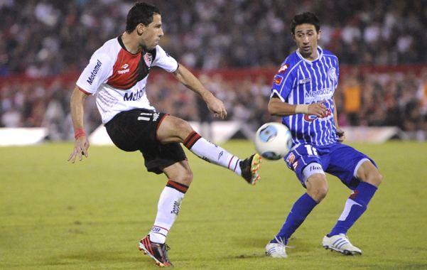 Maxi Rodríguez resaltó el valor del triunfo sobre Godoy Cruz y las condiciones de Newell's como líder del torneo Final. (Foto: S. Suárez Meccia)