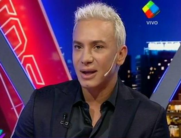 Flavio fue la figura invitada al programa de Fantino.