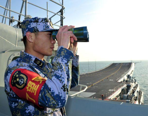 El único portaaviones chino
