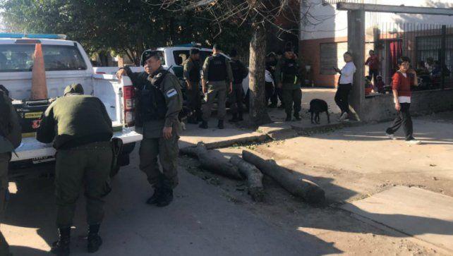 El amedrentamiento sucedió en pleno corazón de barrio La Granada.