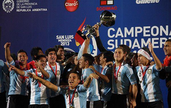 El seleccionado juvenil se consagró campeón.