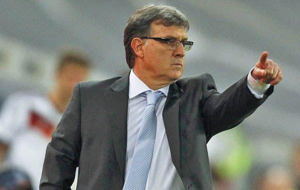 Sin vueltas. El Tata dijo que la selección argentina es candidata al título en Chile 2015.