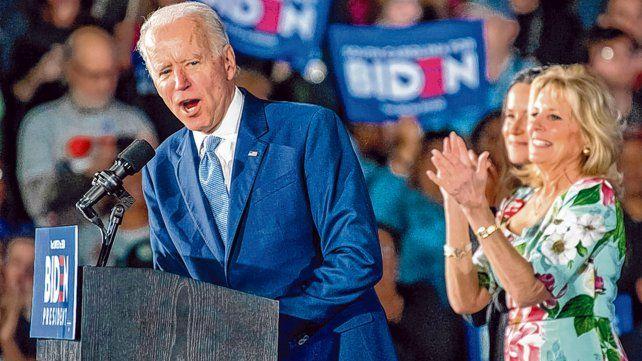 victoria. Biden y su familia celebran la victoria en Columbia
