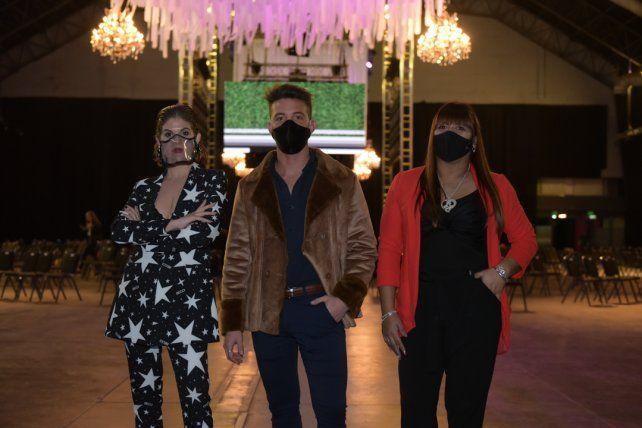 Melisa Banchio, Ignacio Antonioni y Maricruz Marlia