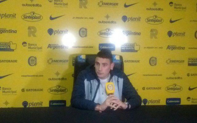 Mauricio Martínez aseguró que en Central la expectativa pasa por poder ganar algo