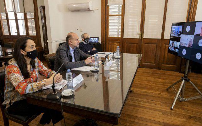 Perotti y Frederic analizaron el trabajo de coordinación entre fuerzas de seguridad en Santa Fe