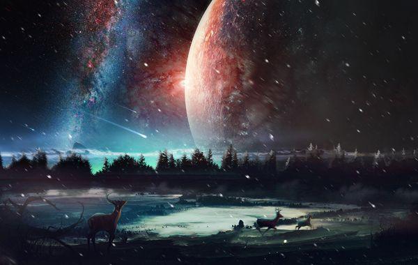 La energía producida por el Universo se dividió por dos en los últimos dos mil millones de años y no deja de disminuir.