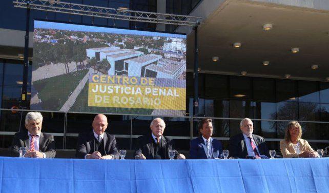 Erbetta dijo que el centro de Justicia Penal fue pensado para audiencias públicas y orales