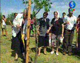 En el Bosque de la Memoria recordaron el golpe del 24 de marzo de 1976
