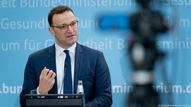 El ministro alemán de Salud