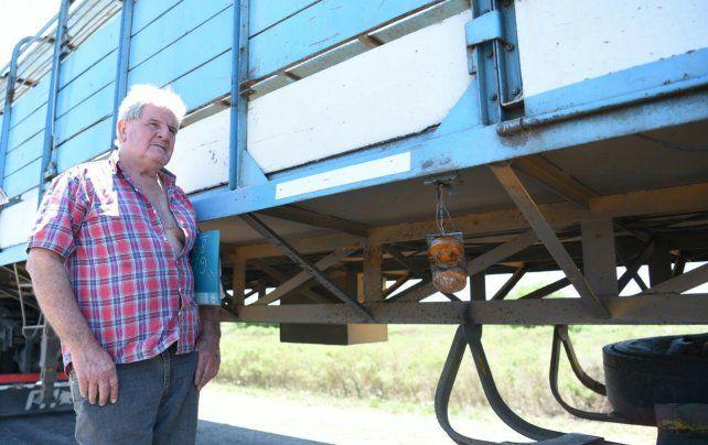 El dramático relato del camionero que asistió a los accidentados