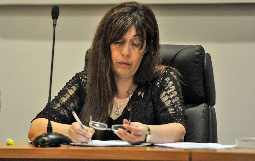 Señora jueza. Roxana Bernardelli dispuso 52 días de prisión preventiva para el joven imputado del crimen de Bassi.