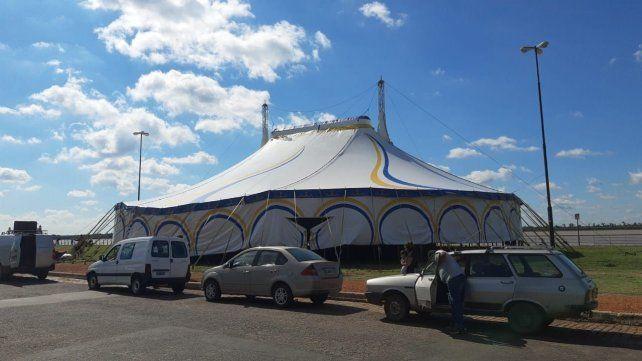 Convertirán la carpa del Circo Rodas en un gigantesco centro de testeos de Covid