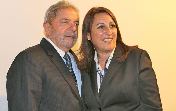 Unidos. El ex presidente brasileño