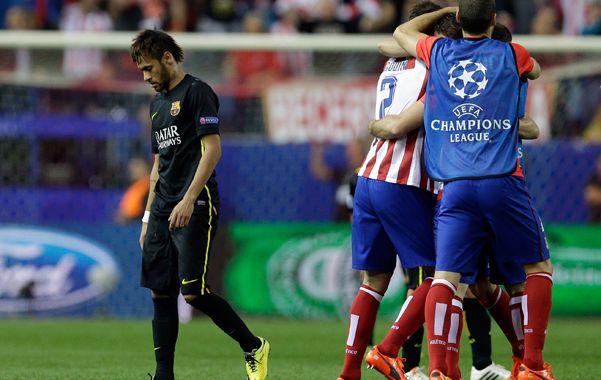 Atlético de Madrid eliminó a Barcelona tras vencerlo 1 a 0 con un gol de Koke y se instaló en semifinales.