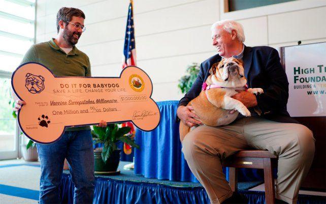 El último ganador de un millón de dólares en el sorteo de vacunación de West Virginia