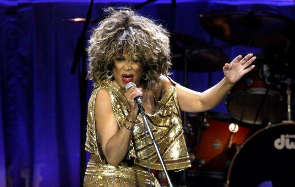 En acción. Tina Turner