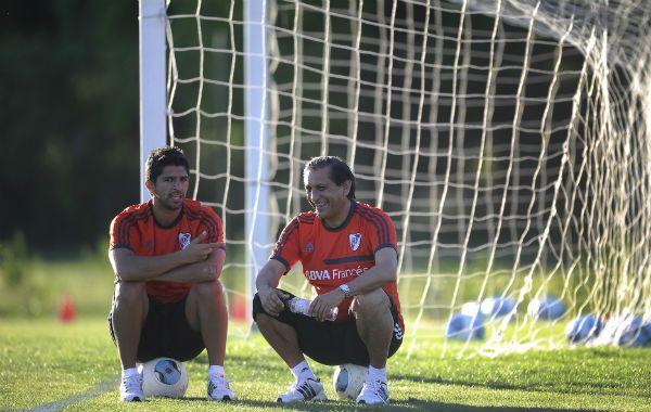 Ajuste. Ramón y su hijo Emiliano