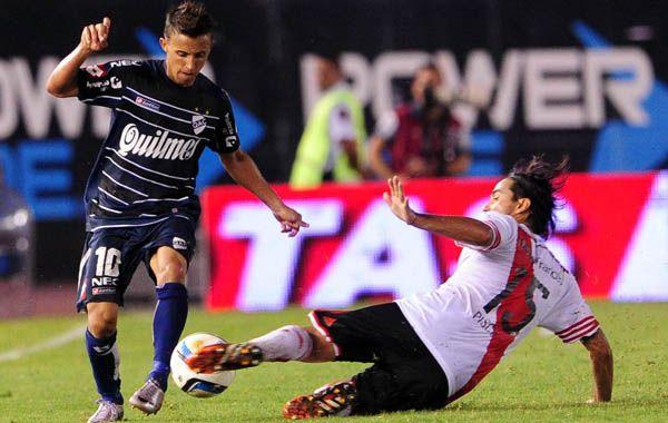 Diego Buonannotte será uno de los ausentes hoy en Quilmes.