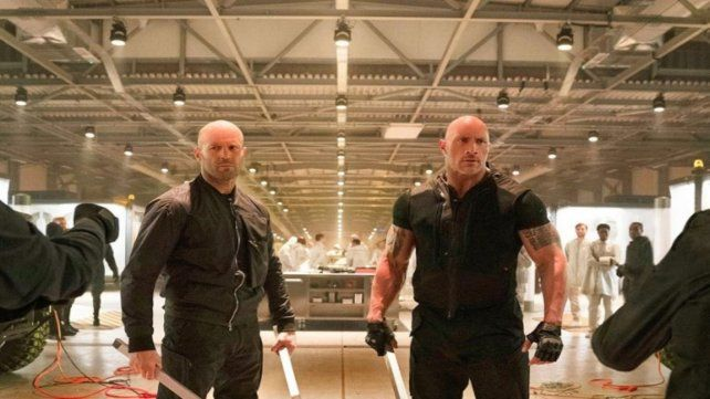 Hobbs y Shaw, a todo ritmo en Rapidos y furiosos