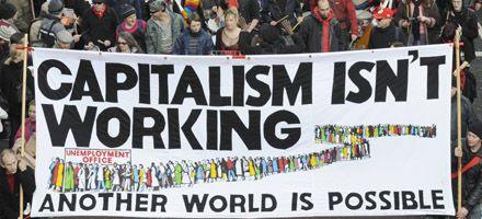 Miles de personas se congregan en Londres para protestar contra el G20