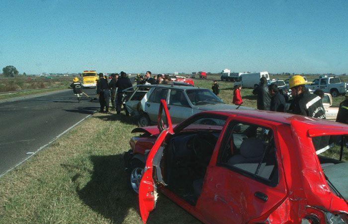 El siniestro vial se produjo en 2001 en la autopista Rosario-Buenos Aires. (Foto de carácter ilustrativa archivo)