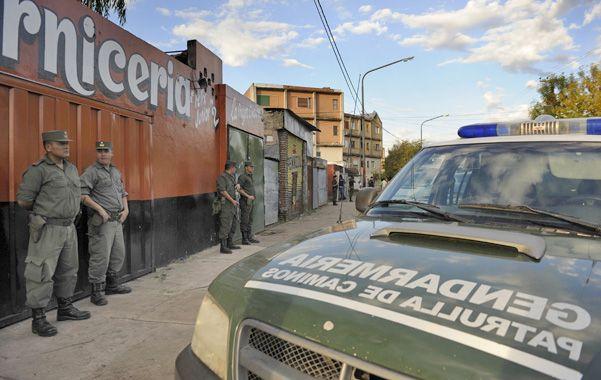 Retreta. La intención del gobierno es que los efectivos de Gendarmería dejen de cumplir funciones en los centros urbanos.