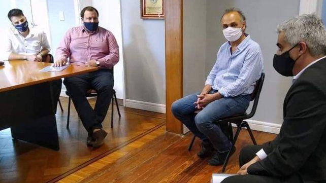 El equipo del Consultorio Jurídico Gratuito de Rosario.