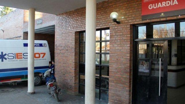 Hospital Anselmo Gamen. Los equipos de Salud trabajan en el nosocomio y en 14 centros locales y provinciales.