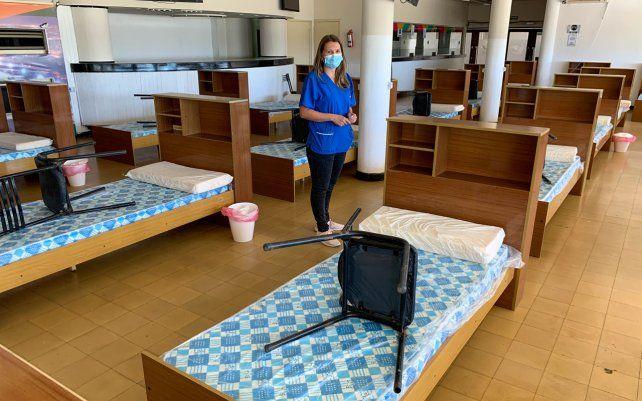 Rehabilitan el Hipódromo de Rosario para aislamiento de pacientes. Ante un posible rebrote de la enfermedad