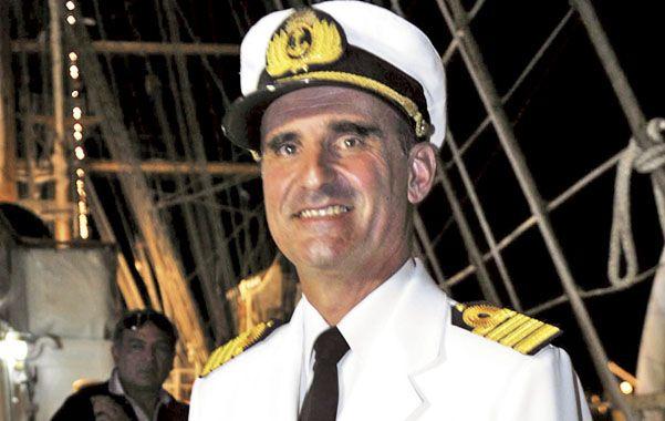 El capitán. Pablo Salonio dio detalles de la travesía.