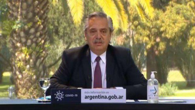 El presidente de la Nación anunció obras para Santa Fe.