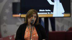 La ministra de Educación, Adriana Cantero, apura la vacunación de los docente.