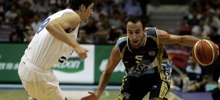Argentina venció a Serbia 75 a 60 en básquet y definirá la Diamond Ball ante Australia