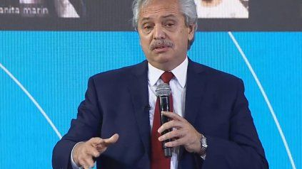 Alberto Fernández dijo que en septiembre vamos a estar todos vacunados de Covid