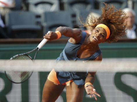 Serena busca su segundo título en el Abierto de tenis de Francia y el primero en 11 años en París.