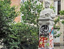 El vandalismo en el espacio público cuesta tres millones de pesos al año