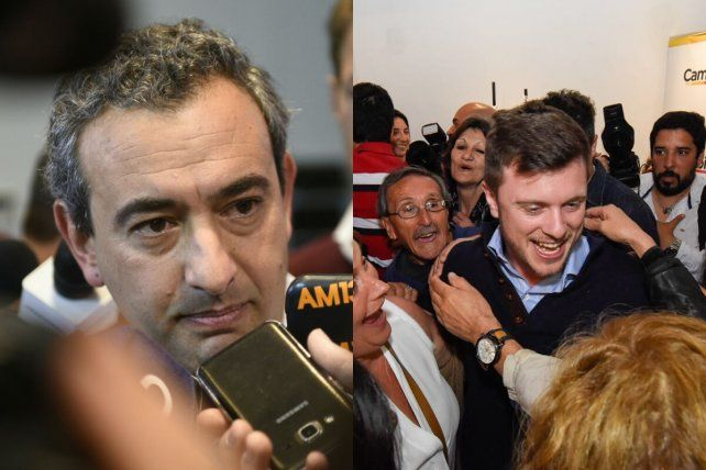 Cruce amistoso. Javkin y Roy se saludaron en las redes luego de las elecciones.