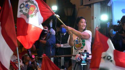 La justicia peruana analiza un pedido para que Keiko Fujimori vuelva a prisión