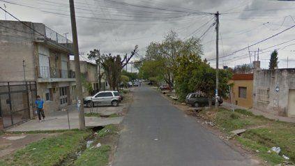 La zona de Ituzaingó al 4300, donde se produjo una entradera a una pareja de jubilados.