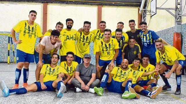Los canallas. El equipo de Rosario Central finalizó la primera etapa como el mejor