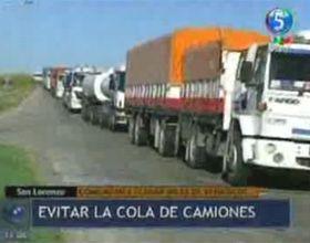 Caos en las rutas: miles de camiones comenzaron a llegar al cordón por la cosecha gruesa