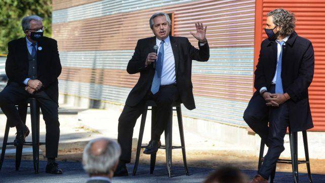 Alberto Fernández dijo que prorroga el DNU mientras espera que el Congreso sancione la ley de Emergencia Covid.