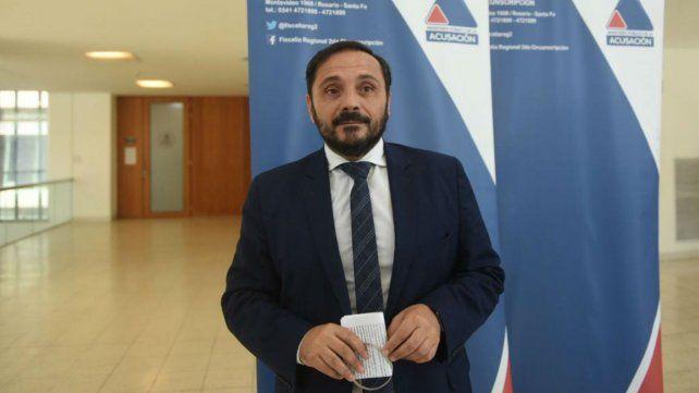 El fiscal Adrián Spelta.